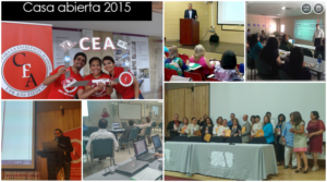 Collage CEA: Casa abierta 2015