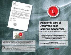Promocion Academia para el desarrollo de la gerencia académica (01)