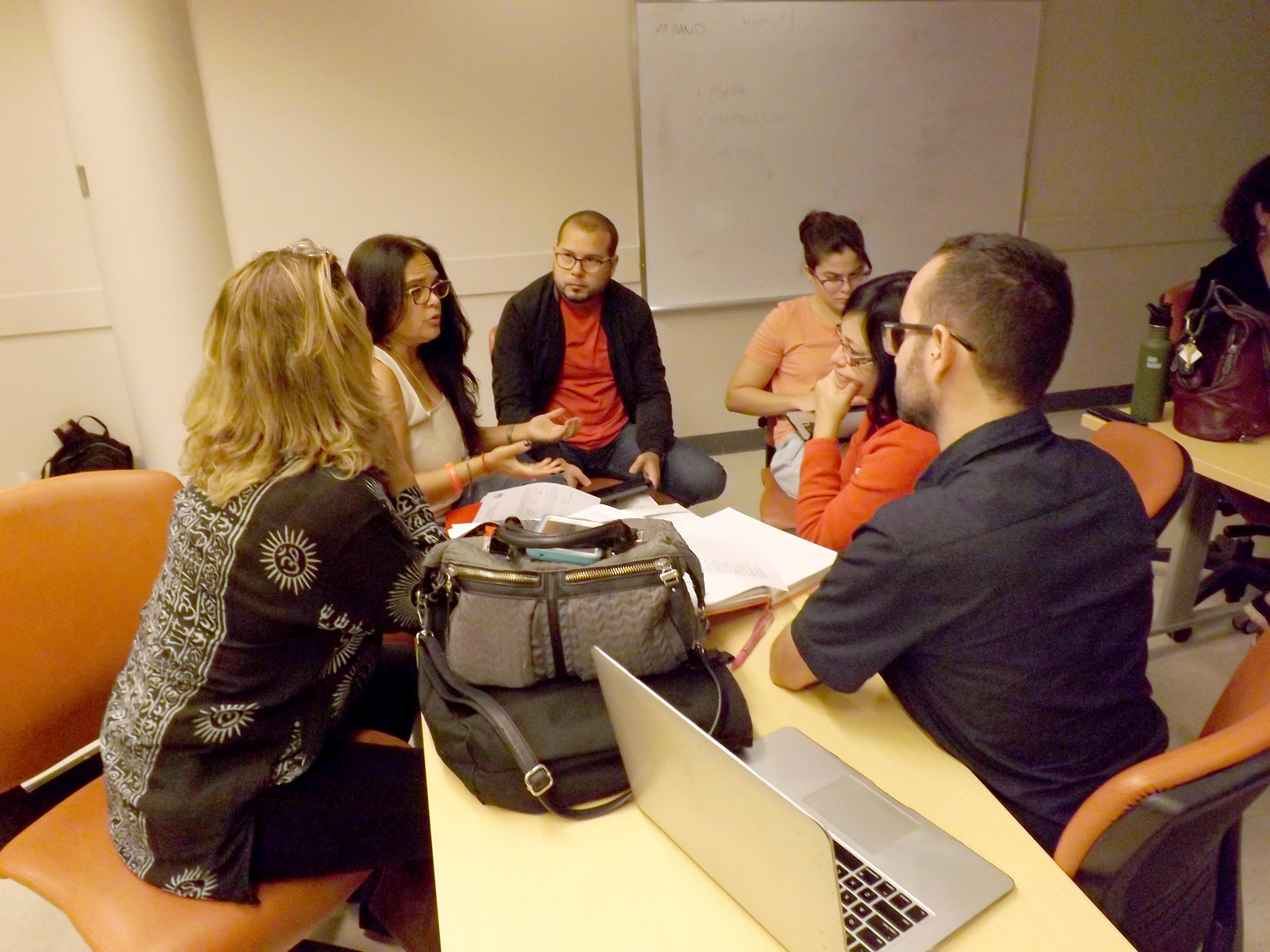 Introducción al Certificado y conversatorio reflexivo de investigación