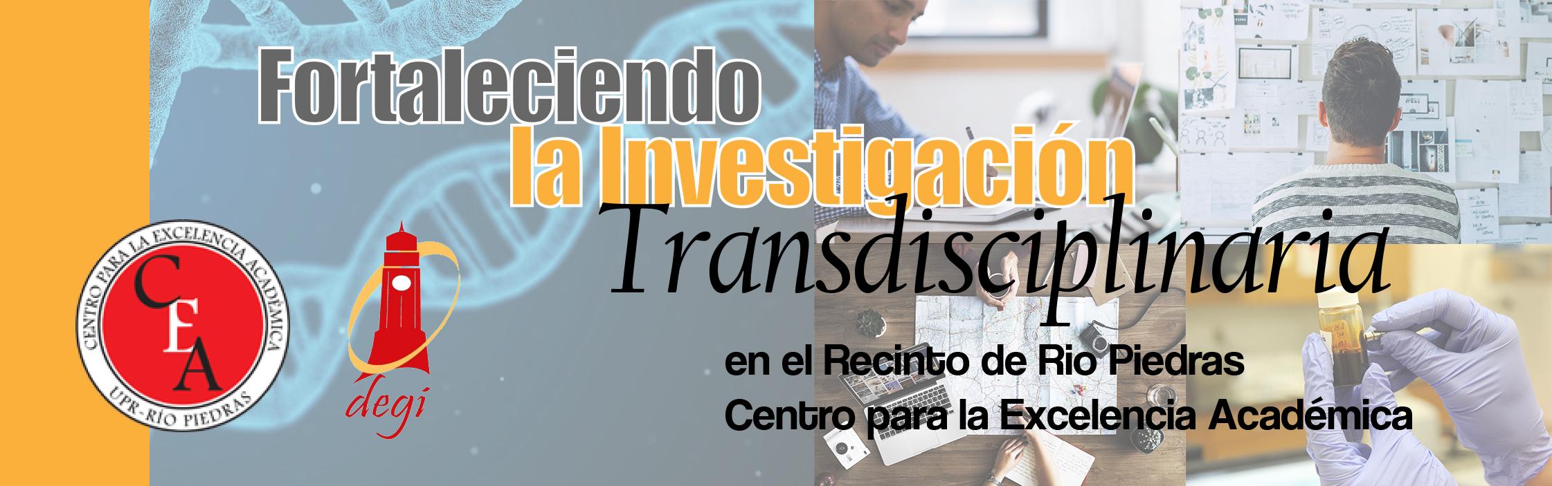 Banner investigacion transdiscipinaria
